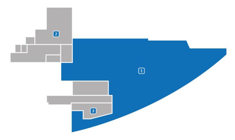 Powierzchnia do wynajęcia 556 m2 - plan
