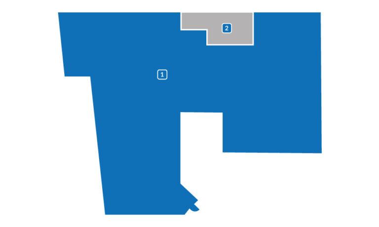 Lokal 400 m2 do wynajęcia - plan